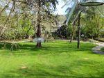 Klanggarten aus dem Baum gesehen